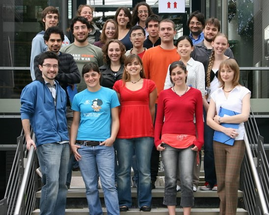 IMPRS students started 2008