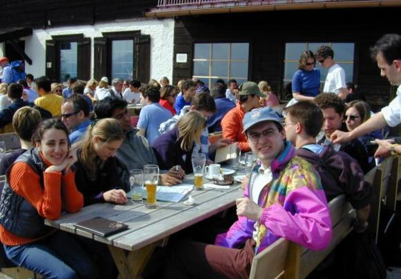 IMPRS Student excursion to Tegernsee-Schliersee 2002